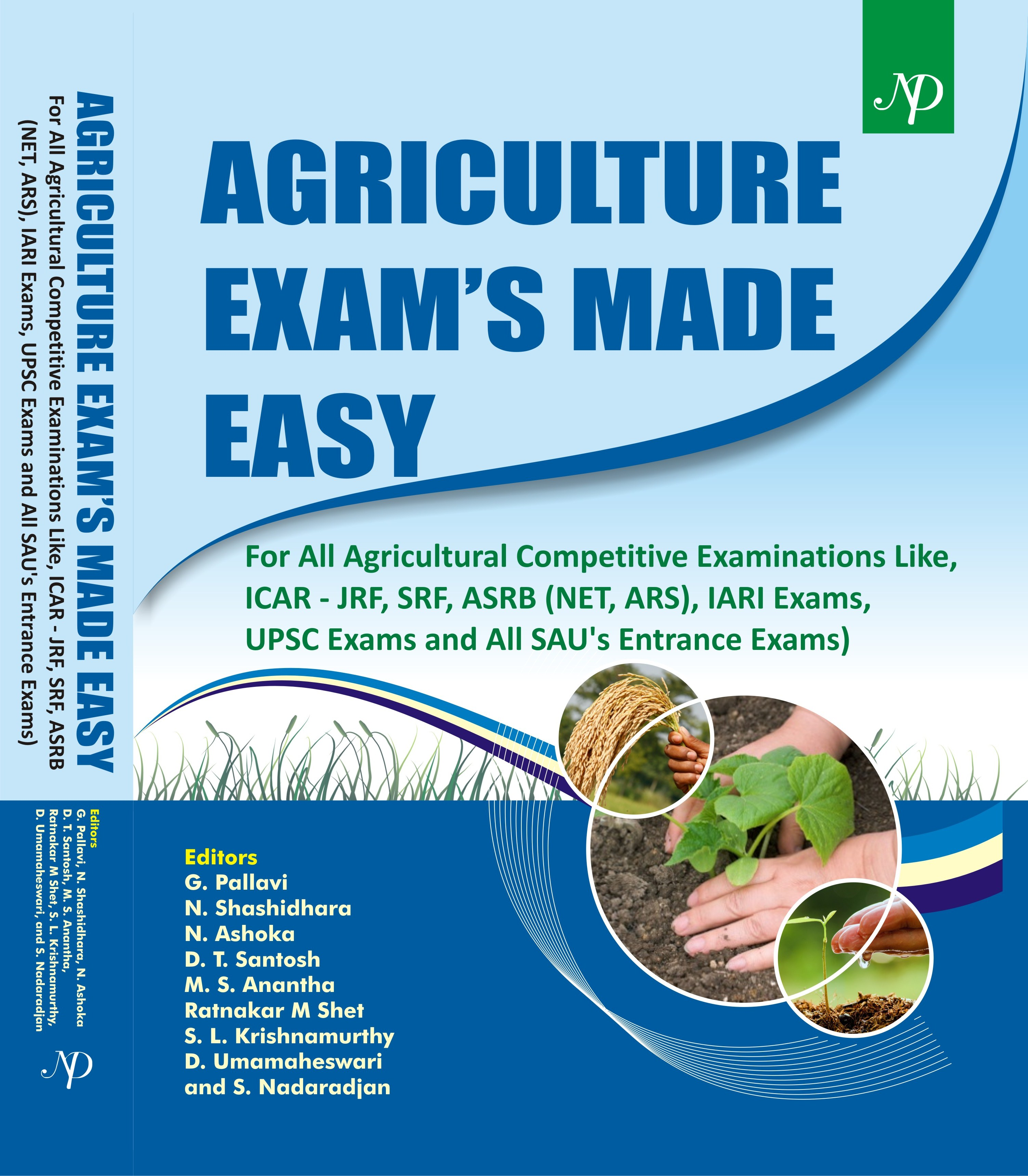 Agriculture Exam's Made Easy- For all Agricultural Competitive Examinations