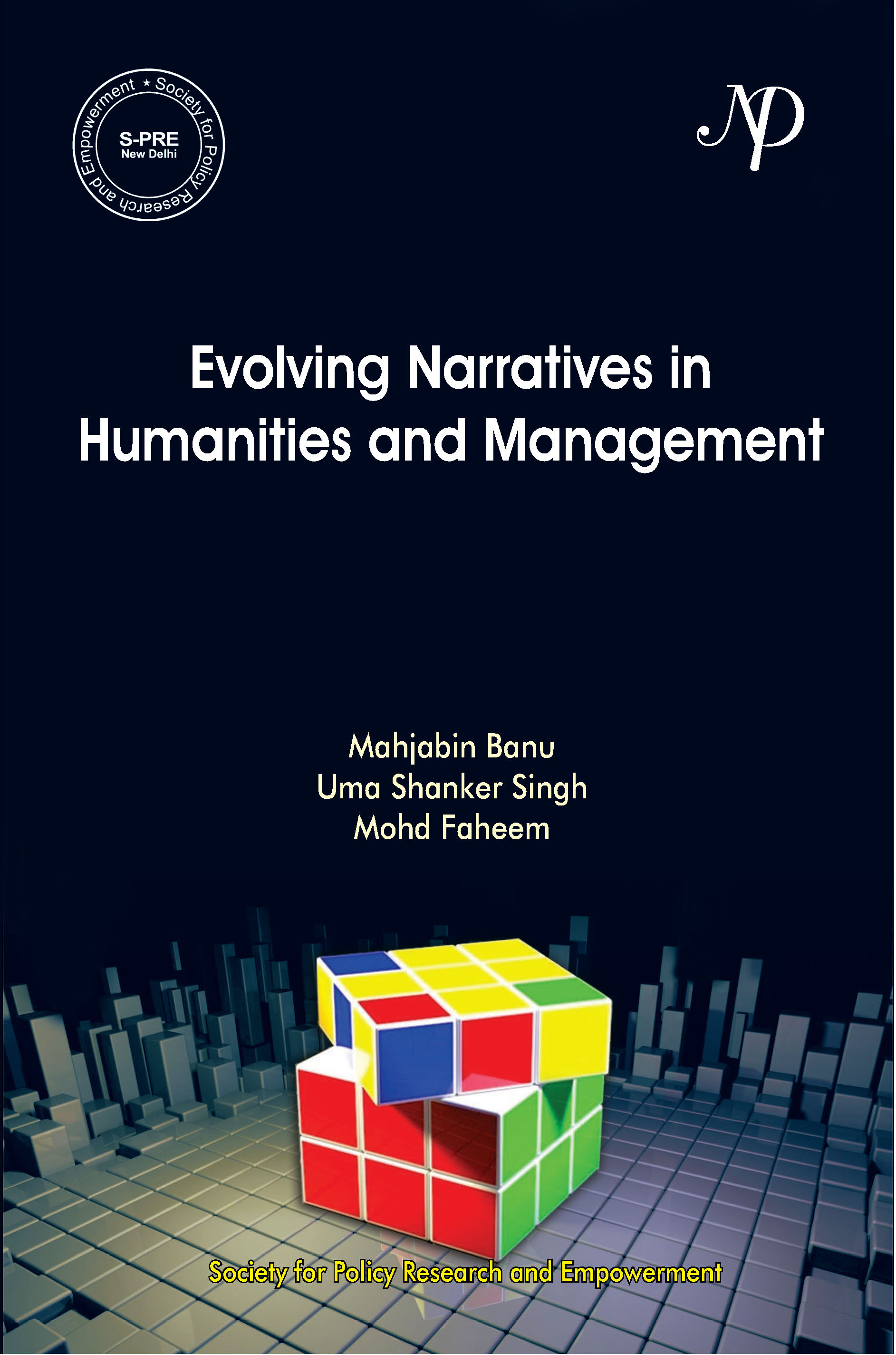 Evolving Narratives in Humanities, Management and Sustainable development Cover 5 Feb 2019.jpg